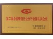 第二节中国铸造行业分行业